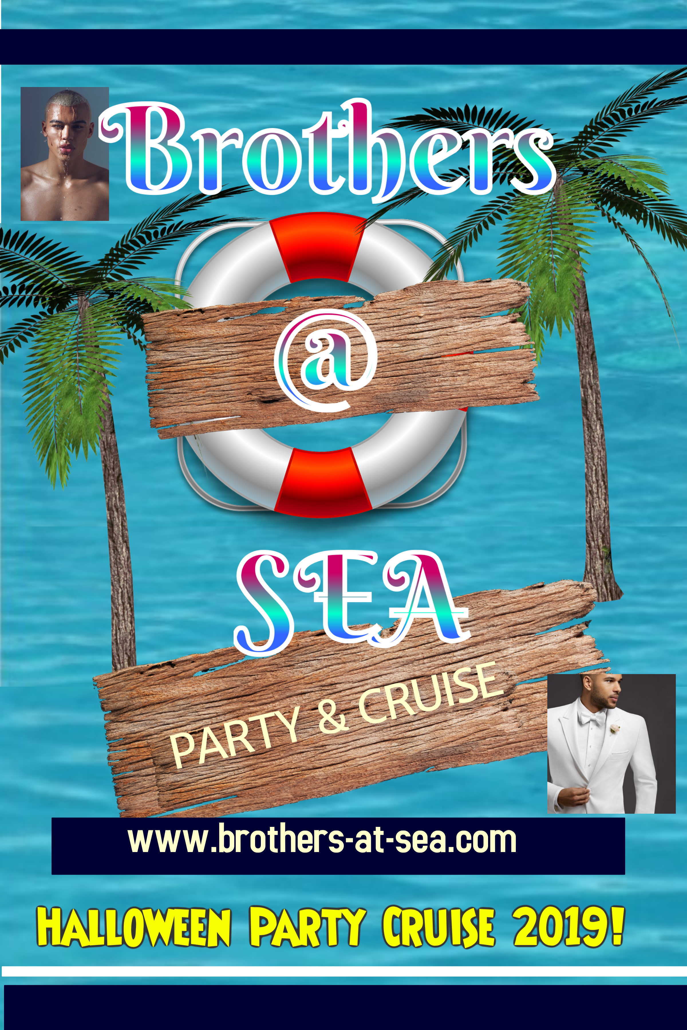 """""""BROTHERS At SEA"""" Halloween Party Cruise 2019!"""
